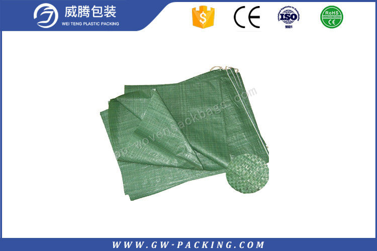Double Folded 25KG Polypropylene woven Bags , Heat Cut Laminated Woven Bags